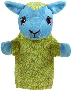 My second puppet Lamb