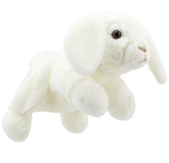 Full bodied rabbit puppet