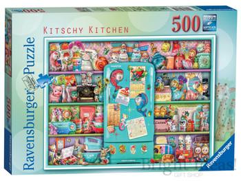 Ravensburger 500 piece jigsaw Kitschy Kitchen