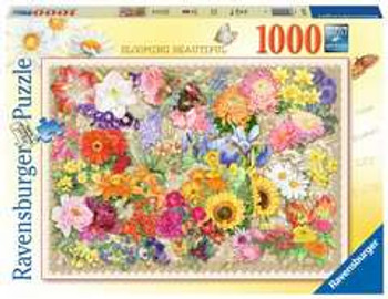 Ravensburger 1000 piece jigsaw Blooming Beautiful