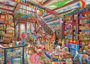 Ravensburger Fantasy toy shop 1000 piece jigsaw