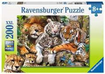 Ravensburger 200xll piece jigsaw Big Cat Nap