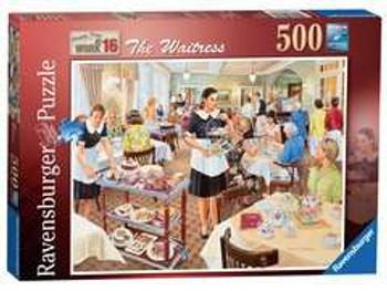 Ravensburger 500 piece jigsaw The waitress