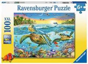 Ravensburger swim with turtles 100xxl jigsaw