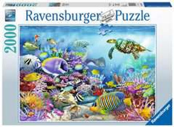 Ravensburger 2000 piece jigsaw coral reef