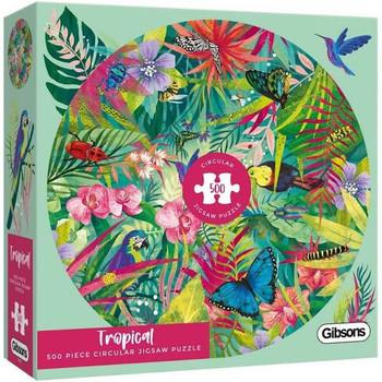gibson 500 piece jigsaw Tropical