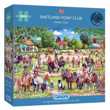 Gibson Shetland pony club 1000 piece jigsaw