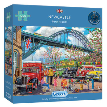 Gibson 1000 piece jigsaw Newcastle