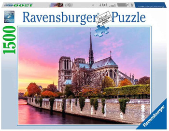 Ravensburger 1500 piece jigsaw Pictureesque Notra Dame
