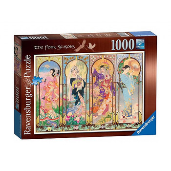 Ravensburger 1000 piece jigsaw the four seasons