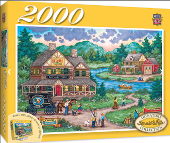 Masterpieces Puzzle Signature Collection Adirondack Anglers Puzzle 2000 pieces