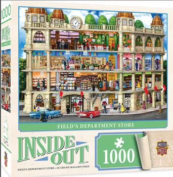 Masterpieces Puzzle Inside Out Fields Department Store Puzzle 1000 pieces