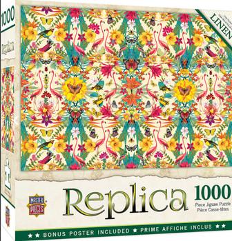 Masterpieces Puzzle Replica Flamingos Puzzle 1000 pieces