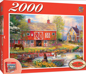 Masterpieces Puzzle Signature Collection Reflections on Country Living Puzzle 2000 pieces