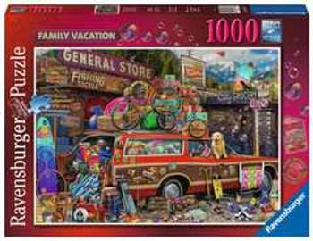 Ravensburger 1000 piece jigsaw Family Vacation