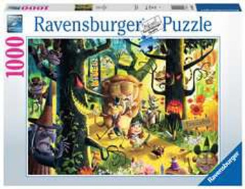 Ravensburger 1000 piece jigsaw lions, tigers and bears