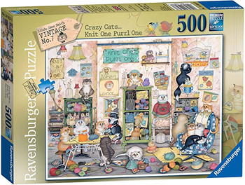 Ravensburger 500 piece jigsaw Knit one Perl one.