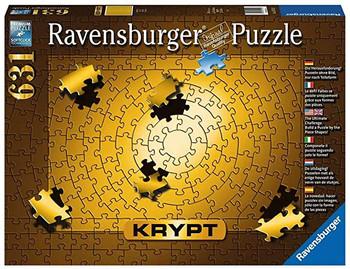 Ravensburger 1000 piece jigsaw Krypt Gold