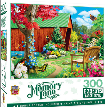 Masterpieces Puzzle Memory Lane Bridge of Hope Ez Grip Puzzle 300 pieces