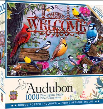Masterpieces Puzzle Audubon Perched Puzzle 1000 pieces