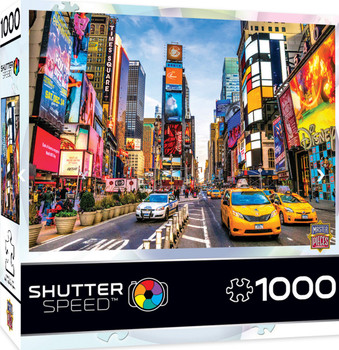 Masterpieces Puzzle Shutter Speed New York Times Square Puzzle 1000 pieces