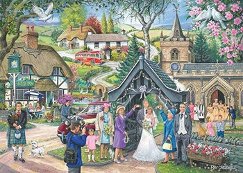 Wedding day no4 1000 piece house of Puzzles jigsaw