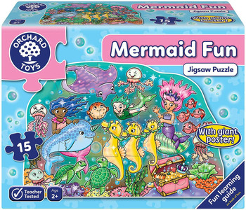 Orchard toys Mermaid Fun 15 piece jigsaw