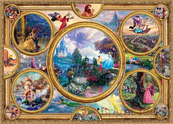 Disney 2000 piece jigsaw collage Disney