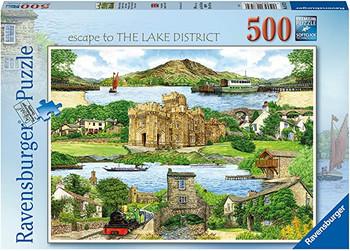 Ravensburger 500 piece Escape to the Lake District