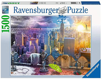 Ravensburger 16008 New York Summer and Winter 1500 Piece Jigsaw Puzzle