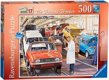 Ravensburger Happy Days at Work No.17 - The Factory Worker 500 Piece Jigsaw