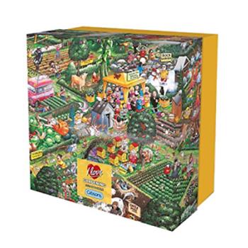 Gibson I love gardenin* gift box 500 piece
