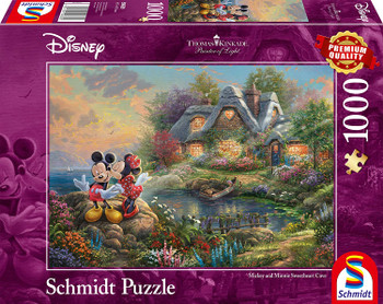 Thomas Kinkade Disney Mickey Mouse Jigsaw Puzzle