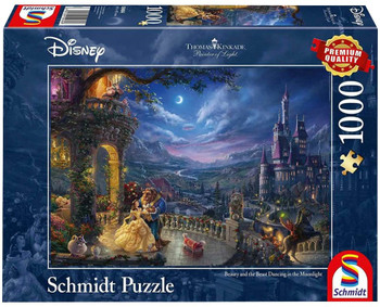 Thomas Kinkade: Disney - The Beauty And the Beast Jigsaw Puzzle