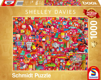 Shelley Davies Vintage Toy 1000 Piece Puzzle