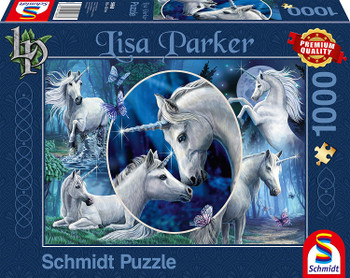 Lisa Parker: Mythical Unicorns Jigsaw Puzzle, 1000pc