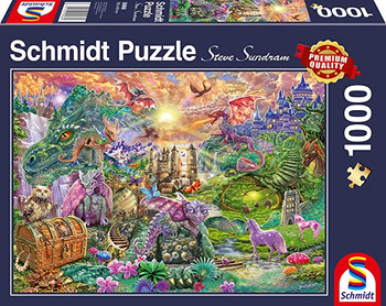 Enchanted 1000 piece jigsaw