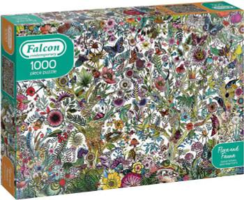 Gibson 1000 piece jigsaw flora and flora