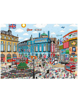 Gibson 1000 piece jigsaw Piccadilly Circus