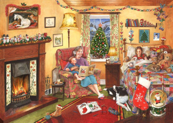A story for Christmas 500 piece house of puzzles