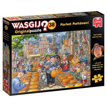 Wasgij 1000 piece jigsaw Market Meltdown