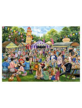Sausage and cider festival 1000 piece jigsaw