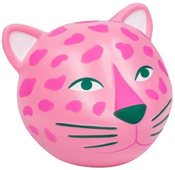 Novelty Leopard Stress Toy, Pink,