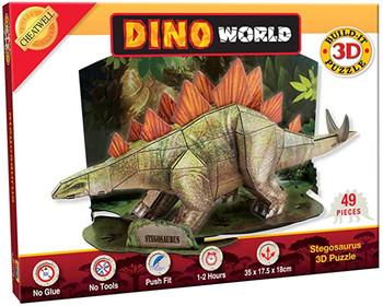Dinosaur World Stegosaurus Kit
