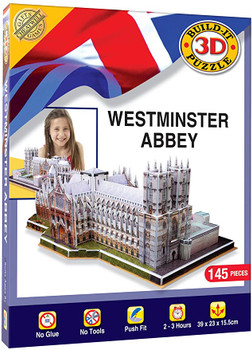 3D Puzzle Westminster Abbey