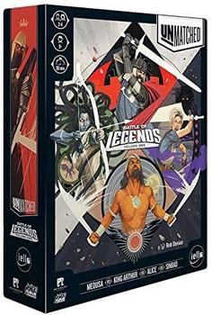 Unmatched-Battle of Legends: Volume 1, Board Game