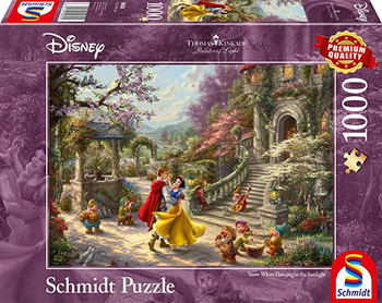 Disney Snow White Dancing with the Prince Jigsaw Puzzle 1000pc