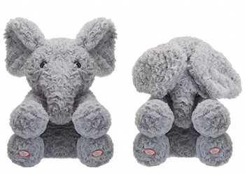 Peekaboo elephant