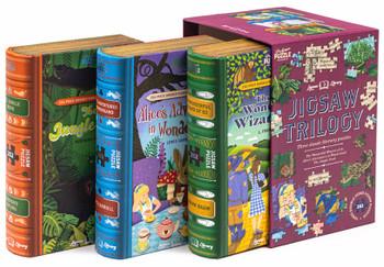 Jigsaw Trilogy 3 x 252 piece jigsaws