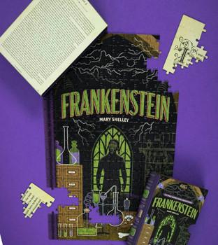 Frankenstein 252 piece jigsaw